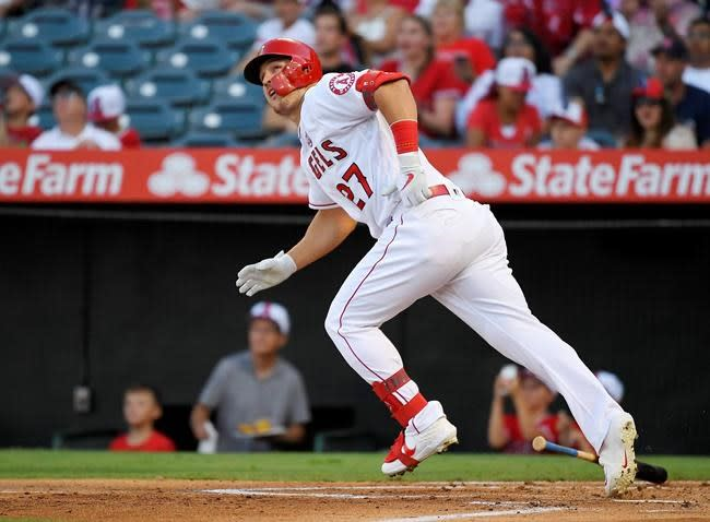 Angels' Trout confirms he'll play this year with baby on way