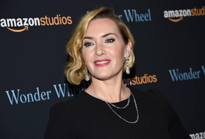 """Kate Winslet attends a special screening of """"Wonder Wheel,"""" hosted by Amazon Studios, at the Museum of Modern Art on Tuesday, Nov. 14, 2017, in New York. (Photo by Evan Agostini/Invision/AP)"""