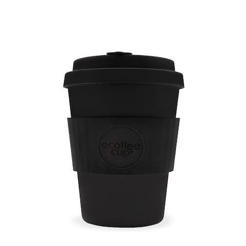 ECoffee 12oz Black Bamboo Resuable Coffee Cup - Credit: Trouva