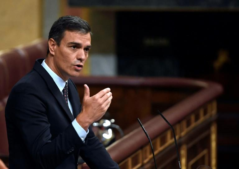 Spanish premier Pedro Sanchez has until September 23 to find a way out of the political deadlock, or the country will find itself on track for yet more elections (AFP Photo/PIERRE-PHILIPPE MARCOU)