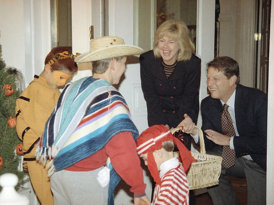 1993 costume al gore mexican garb stereotype