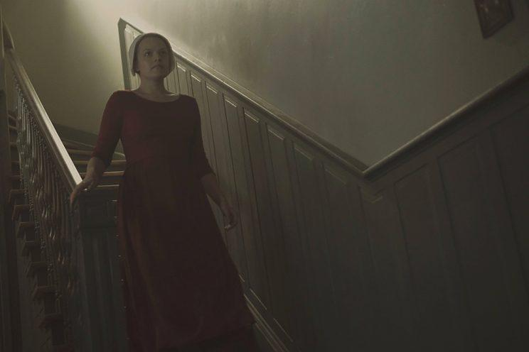Elisabeth Moss as Offred in Hulu's The Handmaid's Tale. (Photo by: George Kraychyk/Hulu)