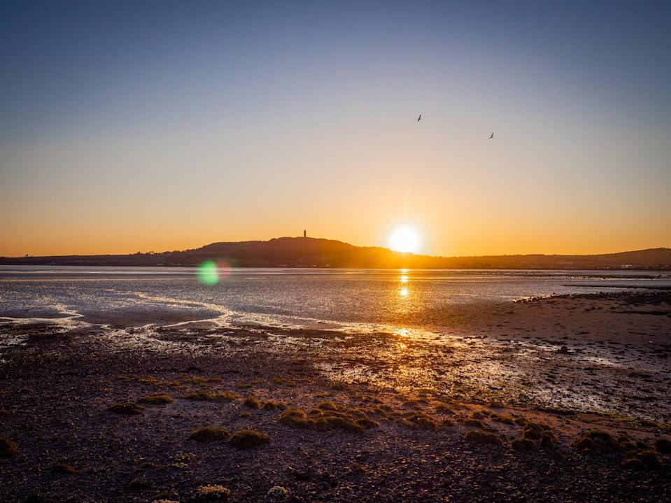 Sunset at Strangford Lough in Northern IrelandGetty Images/iStockphoto