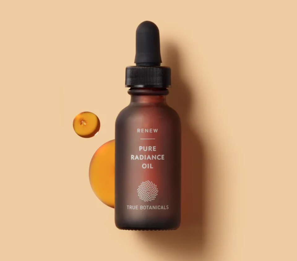 bottle of Pure Radiance Oil by True Botanicals