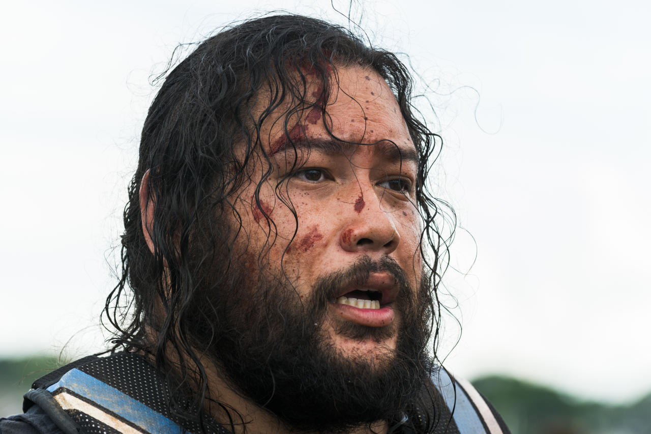 <p>Cooper Andrews as Jerry in AMC's <i>The Walking Dead</i>.<br />(Photo: Gene Page/AMC) </p>