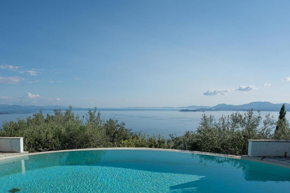 Stunning views from Katavolos House, North East CorfuKatavolos House