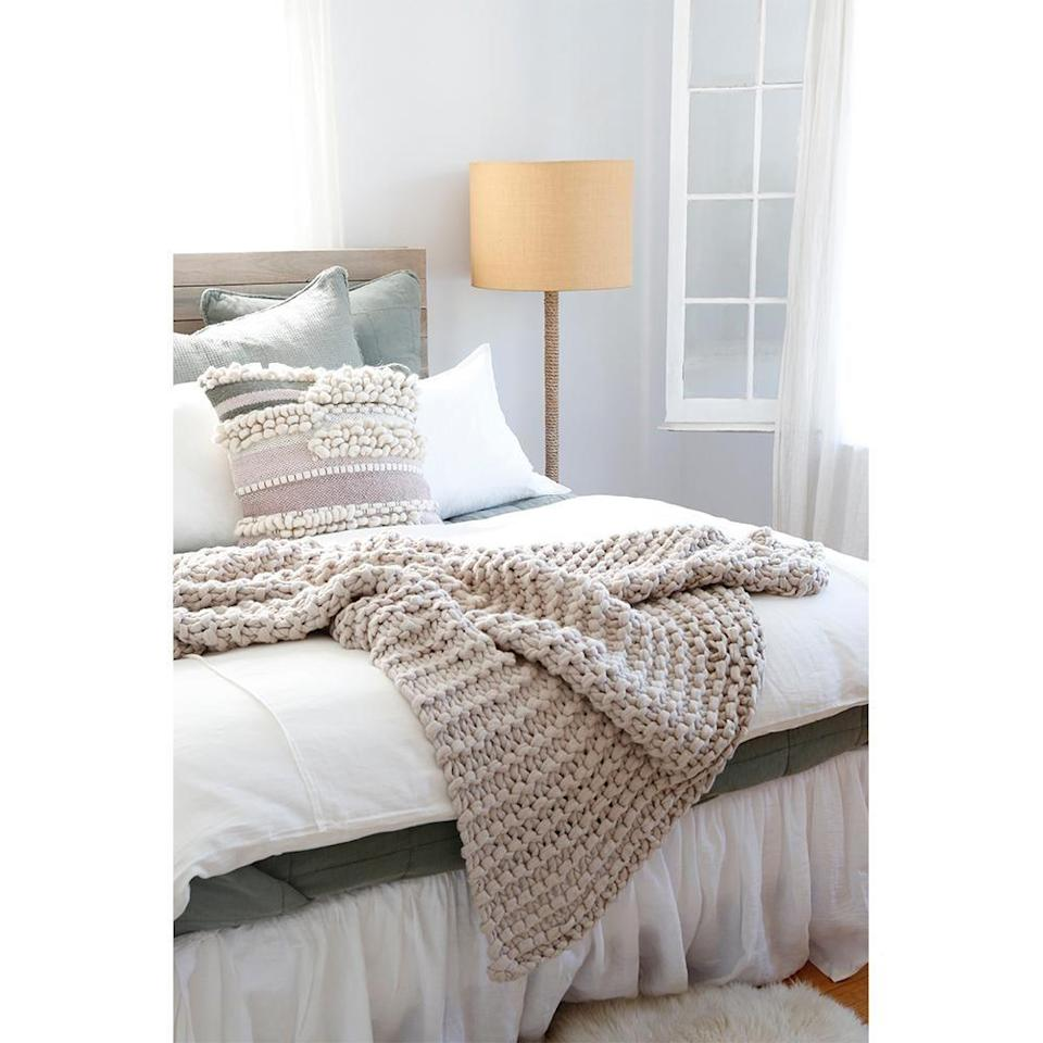"""<p><strong>Pom Pom at Home</strong></p><p>pompomathome.com</p><p><strong>$207.00</strong></p><p><a href=""""https://www.pompomathome.com/collections/throws/products/finn-throw?variant=31228058566767"""" rel=""""nofollow noopener"""" target=""""_blank"""" data-ylk=""""slk:Shop Now"""" class=""""link rapid-noclick-resp"""">Shop Now</a></p><p><a href=""""https://www.pompomathome.com/"""" rel=""""nofollow noopener"""" target=""""_blank"""" data-ylk=""""slk:Pom Pom at Home"""" class=""""link rapid-noclick-resp"""">Pom Pom at Home</a> is offering 20 percent off site-wide for its Labor Day sale, which runs from September 3 through 9. </p>"""