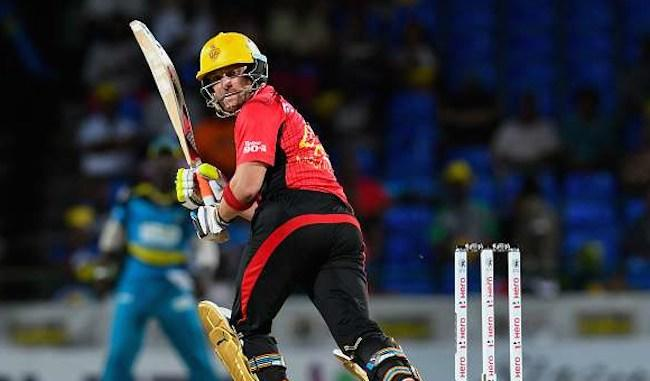 <p><span><em>August 20 (CRICKETNMORE) - Trinbago Knight Riders beat Guyana Amazon Warriors by 7 wickets with 25 balls to spare in the Match no.17 of CPL 2017 at Providence Stadium on Saturday.</em></span></p>