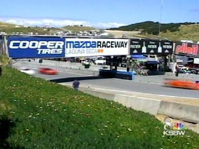 The American Le Mans series at Mazda Raceway Laguna Seca kicked off on Friday.