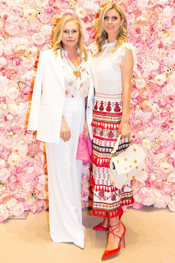 <p>Kathy Hilton and Nicky Hilton attended an Alice + Olivia event in Dallas, Texas.</p>