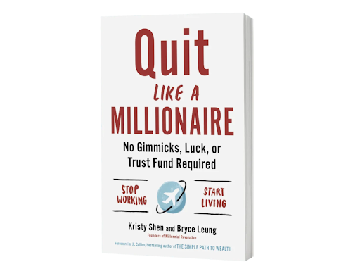 Shen's bestselling book Quit Like a Millionaire