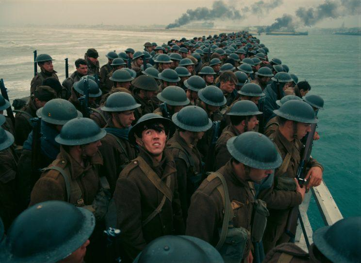 Dunkirk... sterling reviews for Christopher Nolan's new war epic - Credit: Warner Bros