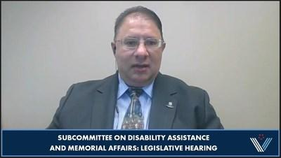 Wounded Warrior Project (WWP) veteran benefits training manager Frank Logalbo testified before the House Committee on Veterans Affairs, Subcommittee on Disability Assistance and Memorial Affairs, on WWP-led reforms to the Service-Disabled Veterans Life Insurance (S-DVI)program.