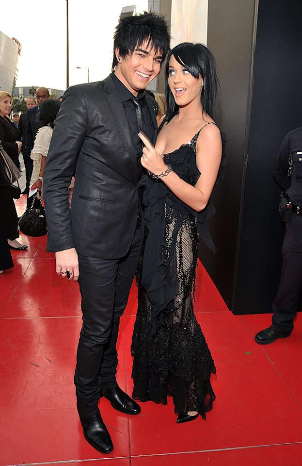 """Along with the aforementioned """"Straight Up"""" singer, Adam Lambert and Katy Perry attended the star-studded LA premiere of """"This Is It"""" on Tuesday. Similar screenings around the world attracted celebs such as J.Lo, Will Smith, Paris Hilton, and more. Lester Cohen/<a href=""""http://www.wireimage.com"""" target=""""new"""">WireImage.com</a> - October 27, 2009"""