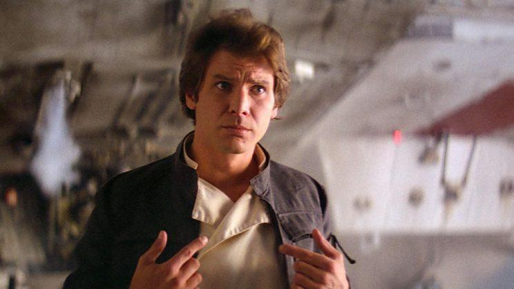 Han Solo, or something else entirely? Credit: Lucasfilm
