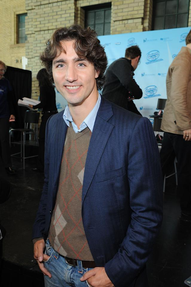 TORONTO - OCTOBER 17: Social Issues Speaker Justine Trudeau attends the Free The Children's National Me to We Day Event at Ricoh Coliseum on October 17, 2008 in Toronto, Canada. (Photo by George Pimentel/WireImage)
