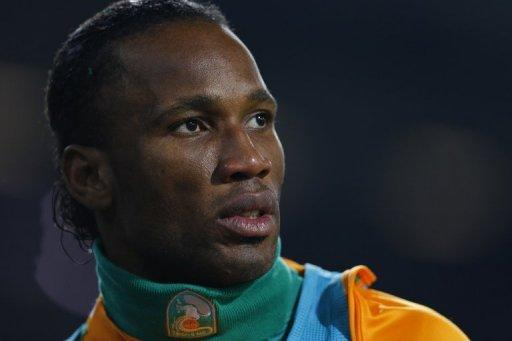 Didier Drogba now plays for Shanghai Shenhua