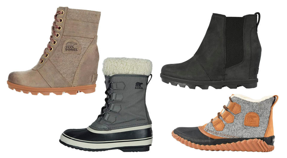 Sorel boots are top of the line—and on sale! (Photo: Zappos)