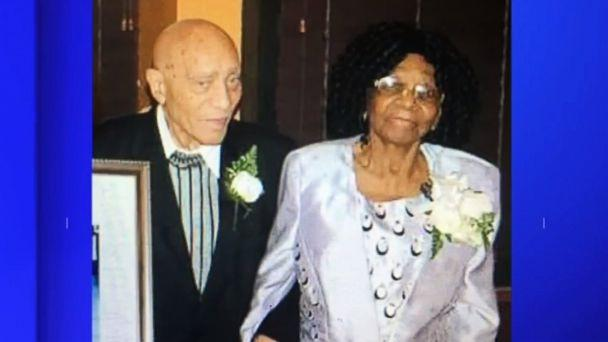 PHOTO: Waldiman Thompson, 91, and his wife, Ethline Thompson, 100, who were robbed in their Brooklyn home on Wednesday. (WABC)