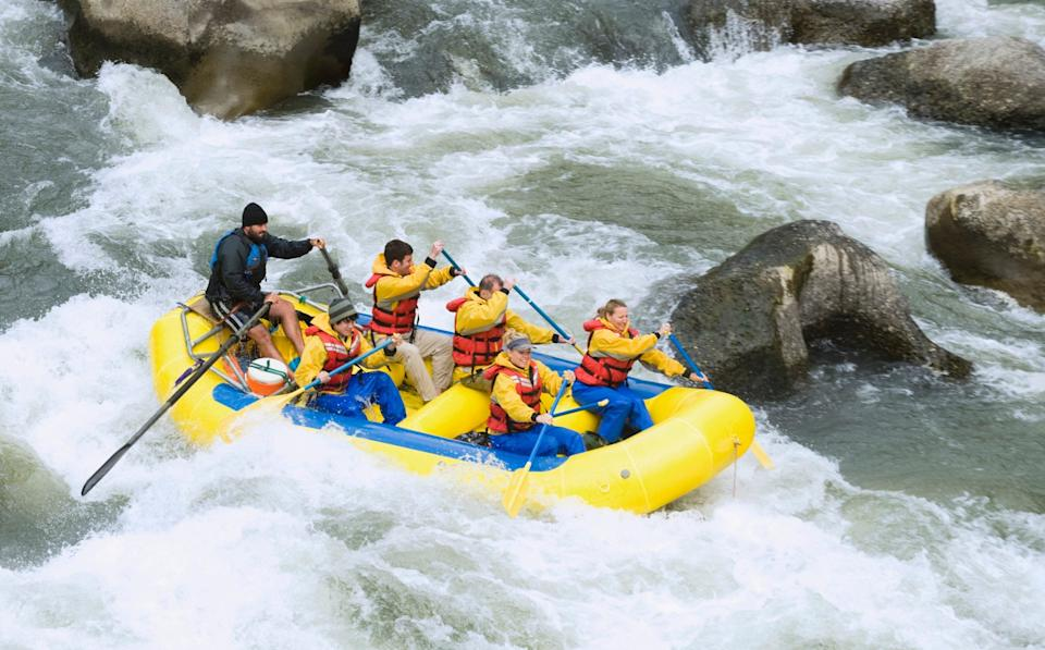 Whitewater rafting - Getty