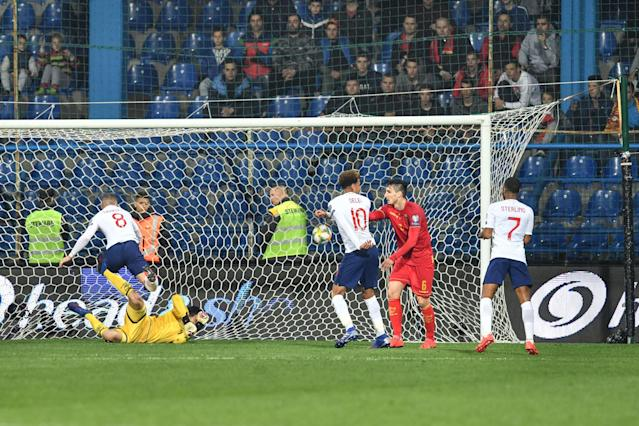 Ross Barkley scored twice for England as they saw off Montenegro