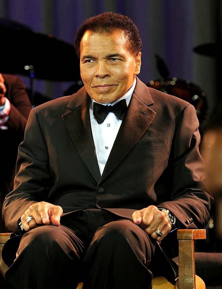 """January 17: Muhammad Ali turns 69 Michael Buckner/<a href=""""http://www.gettyimages.com/"""" target=""""new"""">GettyImages.com</a> - March 20, 2010"""