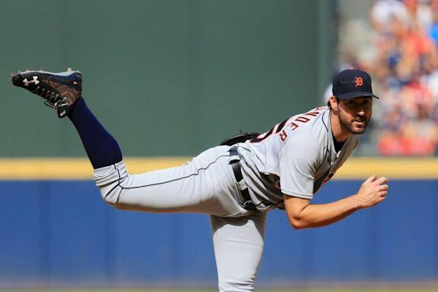 Justin Verlander could be on the move for Detroit. (Getty Images/Daniel Shirey)