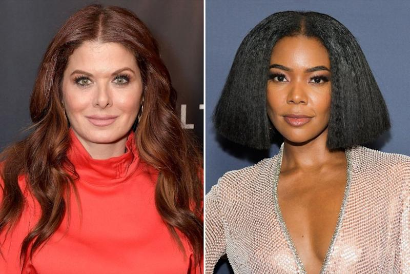 Debra Messing and Gabrielle Union | Michael Loccisano/WireImage; Rodin Eckenroth/FilmMagic
