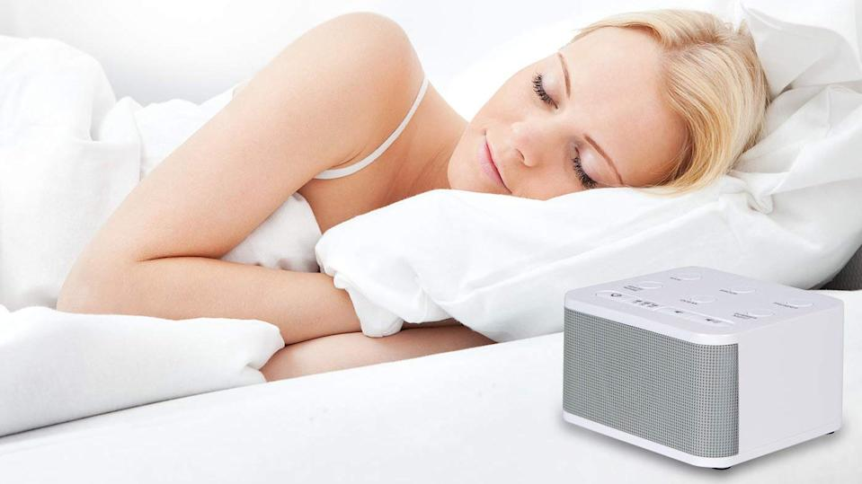 This sound machine can soothe anyone into a gentle slumber.