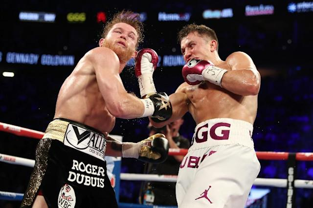 Most recently HBO produced the highly anticipated rematch between Canelo Alvarez (l) and Gennady Golovkin for the unified middleweight title (AFP Photo/AL BELLO)
