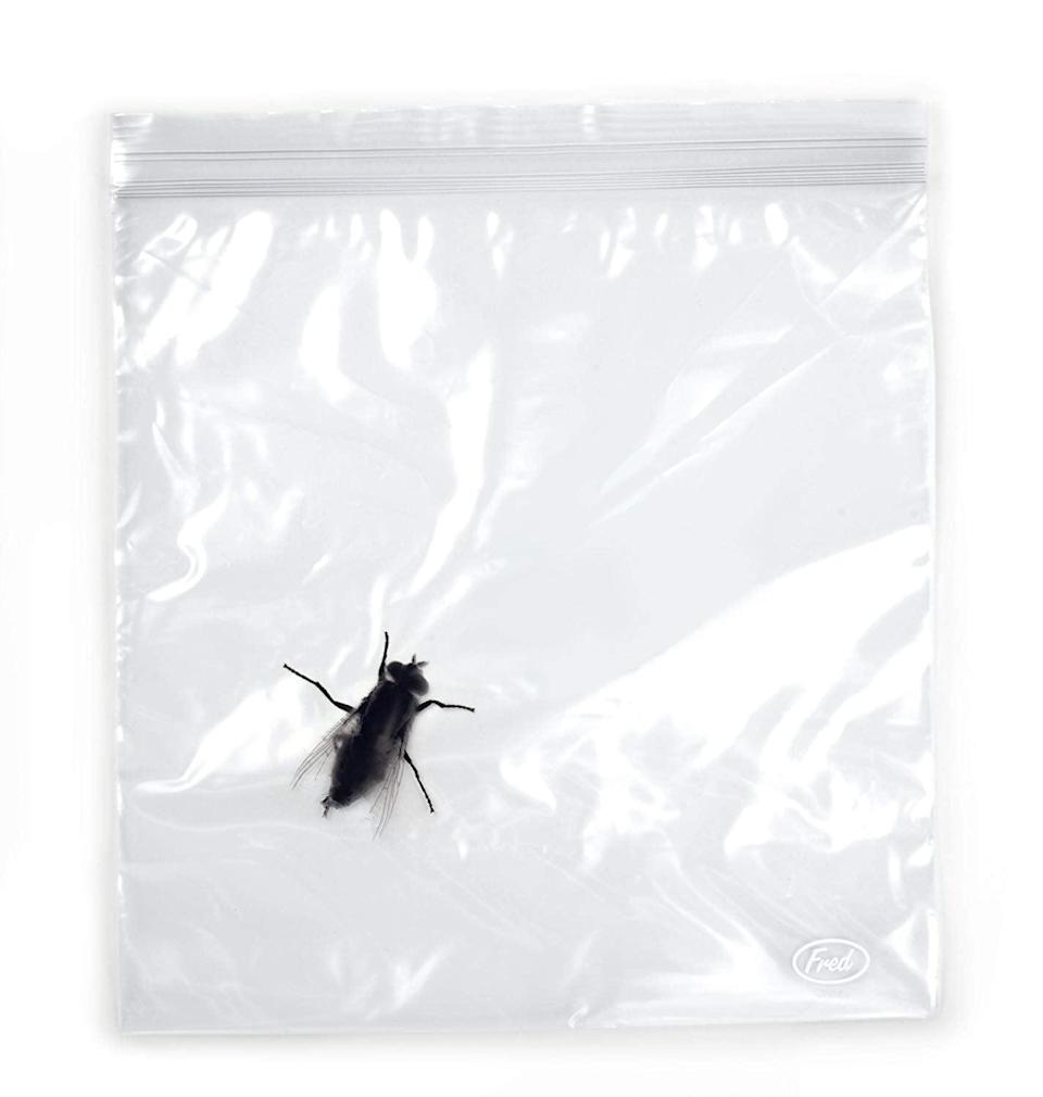 <p>Anyone who's afraid of bugs will freak out over these <span>Fred Lunch Bugs Zipper Sandwich Bags</span> ($6, originally $9).</p>