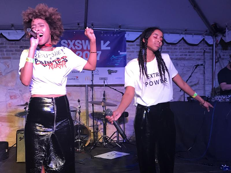 Faarow perform at Contrabanned: #MusicUnites at SXSW