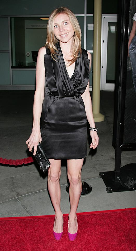 """<a href=""""http://movies.yahoo.com/movie/contributor/1800188817"""">Sarah Chalke</a> at the Los Angeles premiere of <a href=""""http://movies.yahoo.com/movie/1809928850/info"""">Next Day Air</a> - 04/29/2009"""