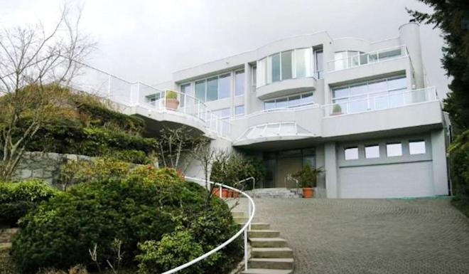 The Vancouver home where Yuan Gang was shot dead then chopped into 108 pieces. Photo: SCMP
