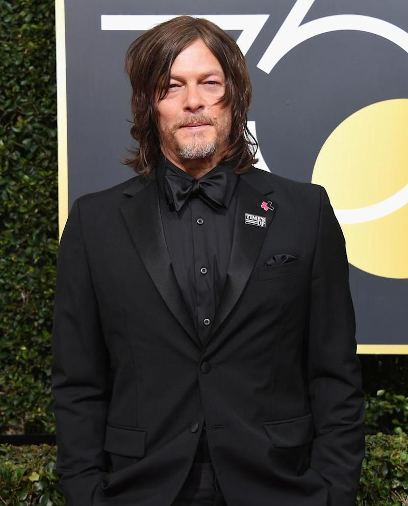 Norman Reedus celebrate The 75th Annual Golden Globe Awards with Moet & Chandon at The Beverly Hilton Hotel. Source: Getty