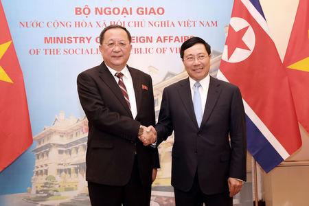 North Korean Foreign Minister Ri Yong Ho visits Vietnam