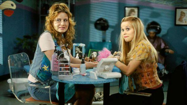 PHOTO: Jennifer Coolidge and Reese Witherspoon star in a scene from MGM's 2001 film, 'Legally Blonde.' (MGM )