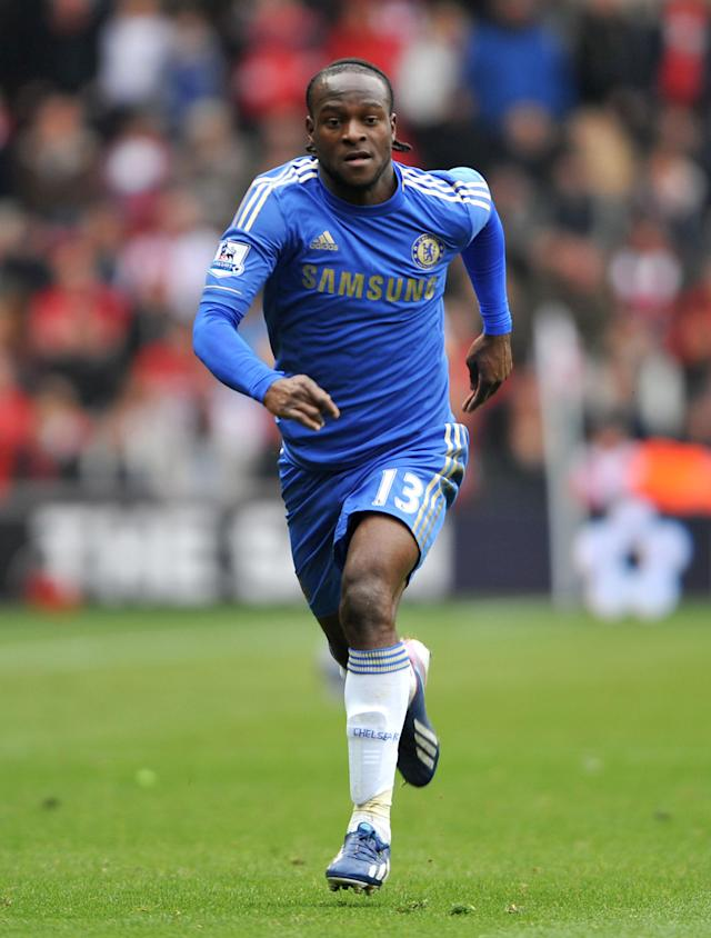 File photo dated 30/03/2013 of Chelsea's Victor Moses.