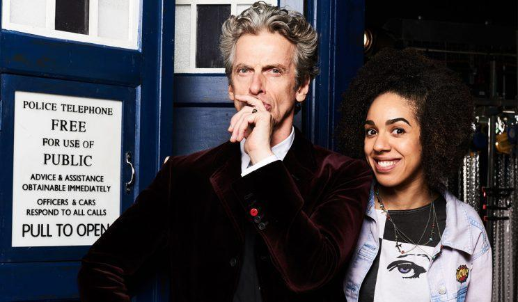 The Doctor alongside new assistant, Bill - Credit: BBC