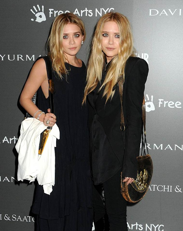 "While they don't dress like it, Ashley and Mary-Kate Olsen are actually big names in the fashion industry! The 25-year-old twins have even been honored by the Council of Fashion Designers of America for their work, which includes their luxury line The Row, as well as Olsenboye, their line for JCPenney, and Ashley's line Elizabeth and James, among other projects. Their latest venture is StyleMint, a T-shirt collection and members-only website. Janet Mayer/<a href=""http://www.splashnewsonline.com"" target=""new"">Splash News</a> - May 14, 2010"