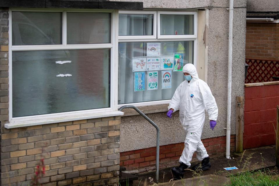 Police were making inquiries in Bridgend after the boy's death (Getty Images)