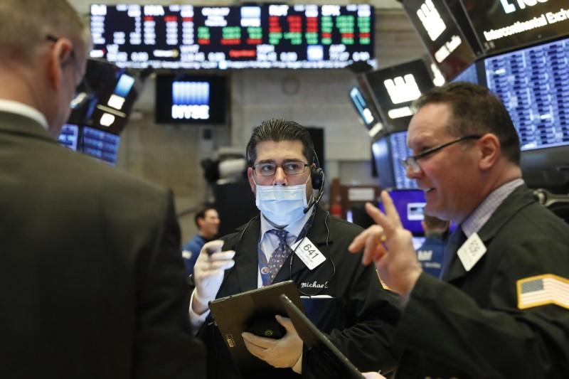 Wall Street dives, ends worst week since 2008, as N.Y., Calif. impose restrictions