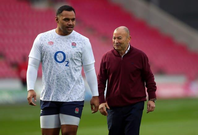 Billy Vunipola has played once since the autumn