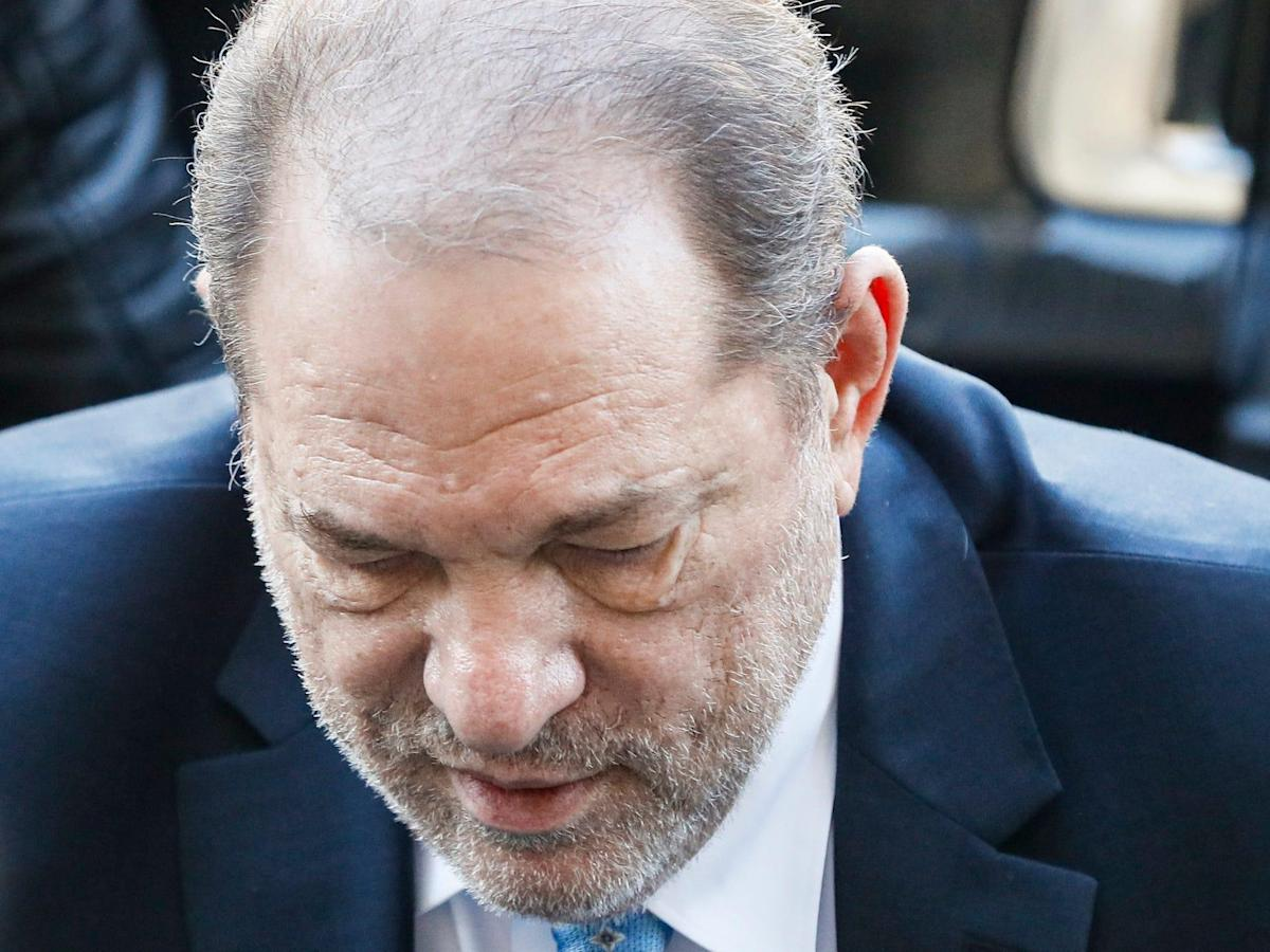 Harvey Weinstein's lawyer says the disgraced producer 'can't see and he can't walk' as he's arraigned in Los Angeles court - Yahoo! Voices