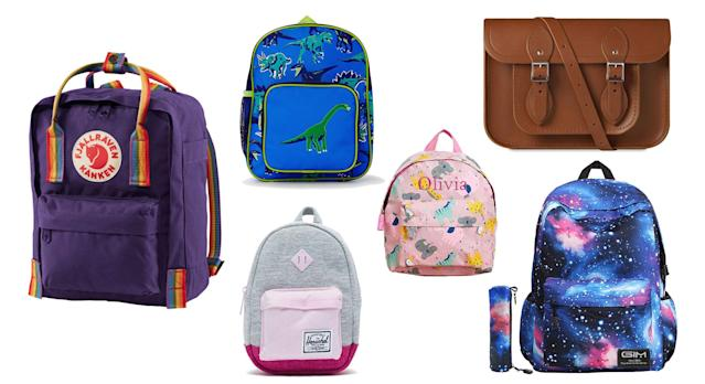 Send your offspring off to school with a new fun yet practical bag [Photo: Yahoo Style UK]