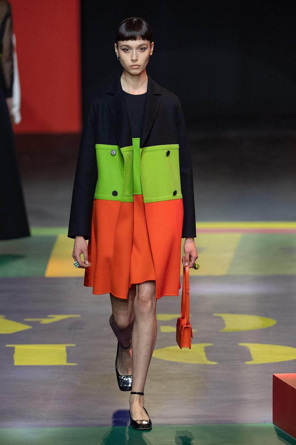<p>A bag from Dior spring 2022 collection.</p>