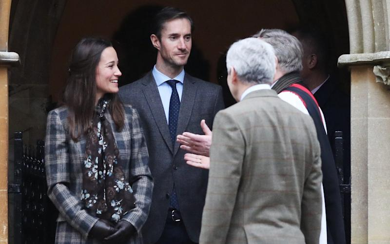 Pippa Middleton will wed James Matthews in Berkshire. - AFP
