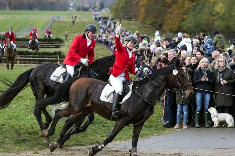 Tens of thousands of spectators watched the annual event. Photo: Getty