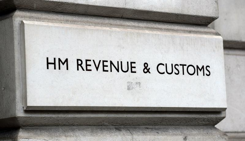 EMBARGOED TO 0001 MONDAY DECEMBER 23 File photo dated 11/01/18 of a HM Revenue and Customs (HMRC) sign as it has been revealed that the government department asked courts to liquidate more businesses in the 12 months to September than at any point over the last four years.