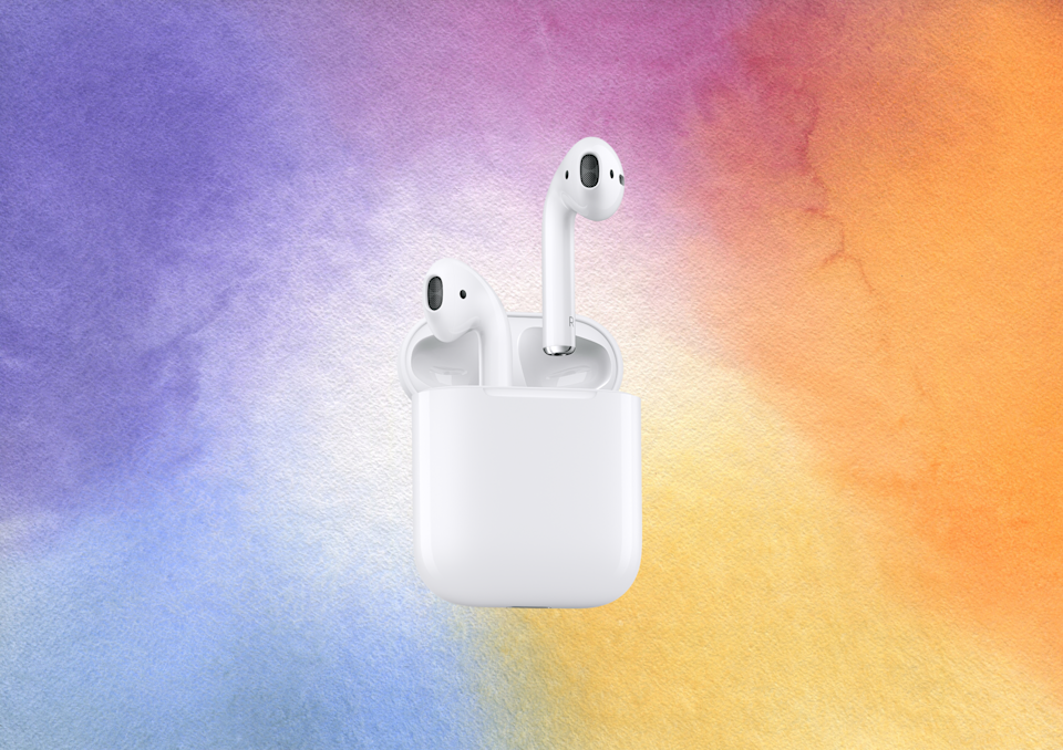 Save 31 percent on these Apple AirPods. (Photo: Amazon)